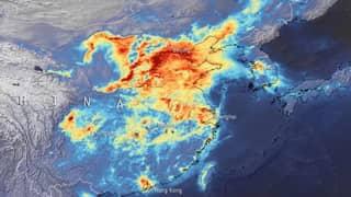 Video Shows China Pollution Decreasing During Coronavirus Lockdown - Then Returning