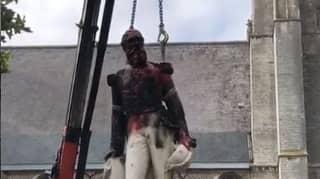 Authorities In Antwerp Remove Statue Of Coloniser King Leopold II