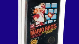 Vintage Super Mario Bros. Game Sold At Auction For £90,000