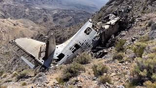 Botanist Discovers Wreckage Of Cold War Era Aircraft In Death Valley