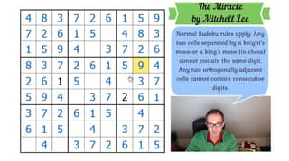 Investment Banker Quits Job To Make YouTube Videos About Sudoku