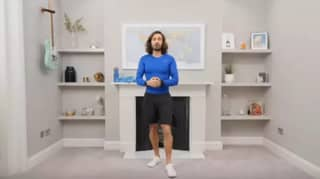 Viewers Marvel At Joe Wicks Immaculate Living Room During Live 'PE Lessons'