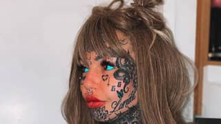 Model Who Spent £28,000 On Tattoos Uses Make Up To Show How She Looks Without Ink