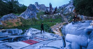 Lads Break Into The New Star Wars Set And Take Pictures