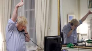 Boris Johnson Forced To Deny Photoshopping Picture Of Biden Phone Call