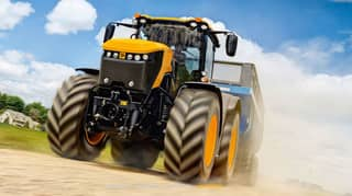 Watch Guy Martin and JCB Smash Top Gear Record For Fastest Tractor At 103.6mph