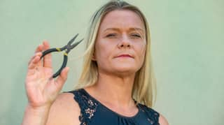 Woman Films Herself Trying To Pull Her Own Tooth Out With Pliers