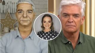 Make-Up Artist Turns Herself Into Phillip Schofield On This Morning