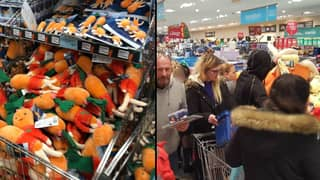 Shoppers Queue At Aldi From 6am To Get Kevin The Carrot Toys, Before They Pop Up On eBay For Hundreds