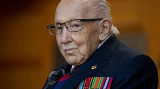 Captain Sir Tom Moore's Grandson Backs Calls For Statue To Honour War Hero