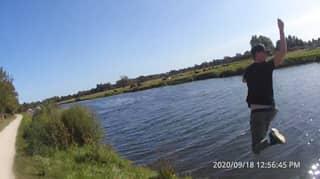Drug Dealer Jumps Into River With £700 Stash To Escape Police