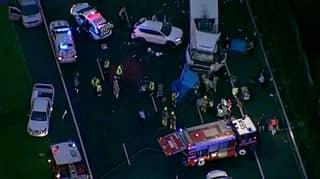 Four Police Officers Killed In Horror Melbourne Crash