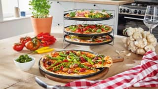 Lidl Is Selling A Tray Tower That Lets You Cook Four Pizzas At Once