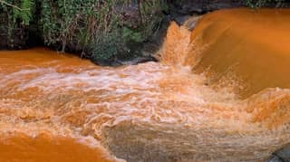 Mystery As Scottish River Turns Orange Like Irn Bru