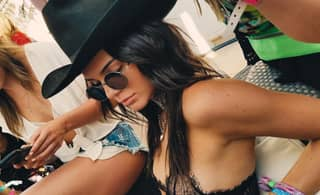 Kendall Jenner's Pierced Nipple Goes Viral After Kylie Jenner Snapchats It At Coachella