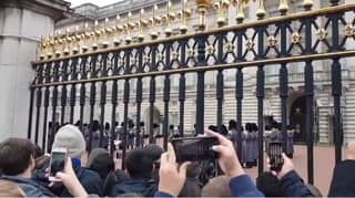​Royal Guards Play Queen's 'Bohemian Rhapsody' Outside Buckingham Palace