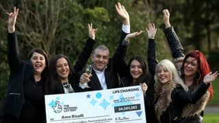Taxi Driver Scoops £24.5 Million National Lottery Jackpot