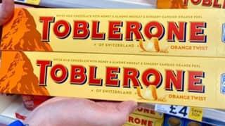 Toblerone Launches Orange-Flavoured Bar