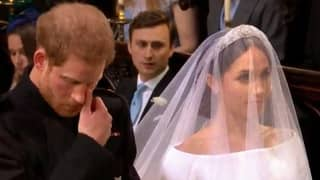 Royal Wedding 2018: Prince Harry Wipes Away Tears As He Weds Meghan Markle