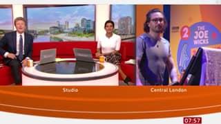 BBC's Naga Munchetty Raises Eyebrows After Telling Joe Wicks To 'Get His Pecker Up'