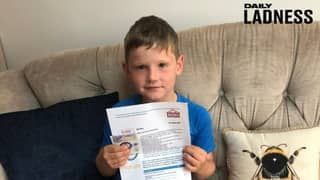 Seven-Year-Old Lad Given First Pay Packet After Helping Builders