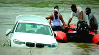 Man Didn't Like Car His Dad Bought Him So Pushed It In A River