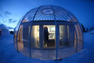 Arctic Circle 'Snow Globes' Are Perfect For A Winter Escape