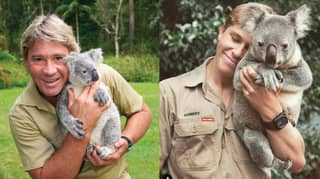 Robert Irwin Recreates His Dad's Famous Koala Photo