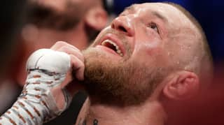 Video Shows Conor McGregor Apologising To Dana White After Mayweather Defeat