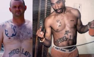 Lad Who Got Tattoos To Emulate Tupac Admits He Has Come To Regret The Decision
