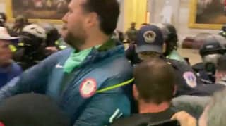 Ex-Olympian Who Wore His Team USA Jacket At The Capitol Riots Has Been Charged