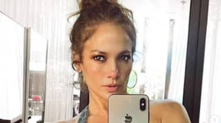 Jennifer Lopez Fans Confused About 'Guy In Mask' Spotted In Selfie