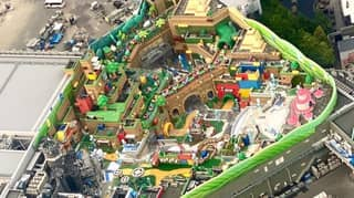 New Images Show That Super Nintendo World Japan Is Almost Complete
