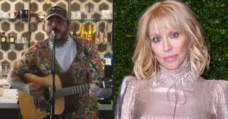 Courtney Love And Krist Novoselic Congratulate Post Malone On His Nirvana Tribute Livestream