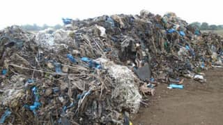 ​20 Tonnes Of Commercial Waste Dumped On UK Farm