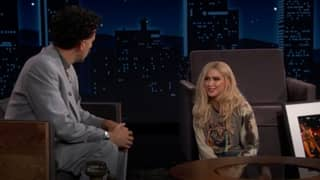 ​Borat Introduces Jimmy Kimmel To His Daughter Tutar