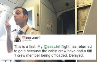 TV Presenter Live-Tweeted EasyJet Crew Kicked Off The Plane For Fighting