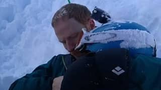 Incredible Video Shows Moment Dad Saves Son Who'd Been Buried Under Snow