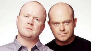 Woman's Knees Look Just Like EastEnders Brothers Grant And Phil Mitchell