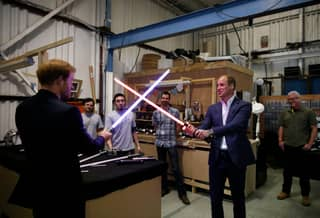 It Looks Like Both Prince Harry And Prince William Will Be In The Next Star Wars