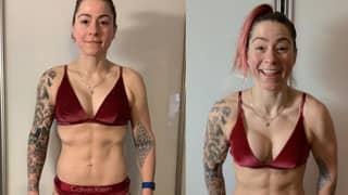 Lucy Spraggan Ripped After Six-Week Transformation