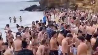 More Than 100 People Attend Illegal Beach Party In Melbourne