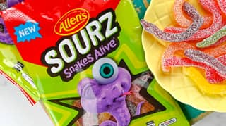 Allen's Lollies Is Bringing Out Sour Snakes Alive
