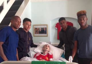 Grandad Dies Just 45 Minutes After Man United Players Turned Up At His Home