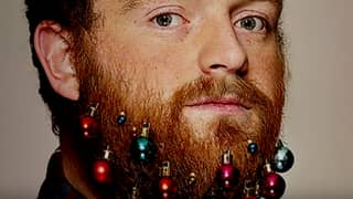 If You REALLY Want, You Can Buy Christmas Ornaments For Your Beard