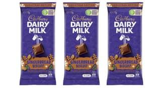 Cadbury Has Released A Gingerbread Biscuit Chocolate Block