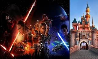 Awesome 360-Degree Pic Shows Groundbreaking On Star Wars Land Site At Disneyland