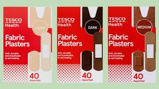 Tesco Becomes First UK Supermarket To Launch Plasters In Range Of Skin Tones