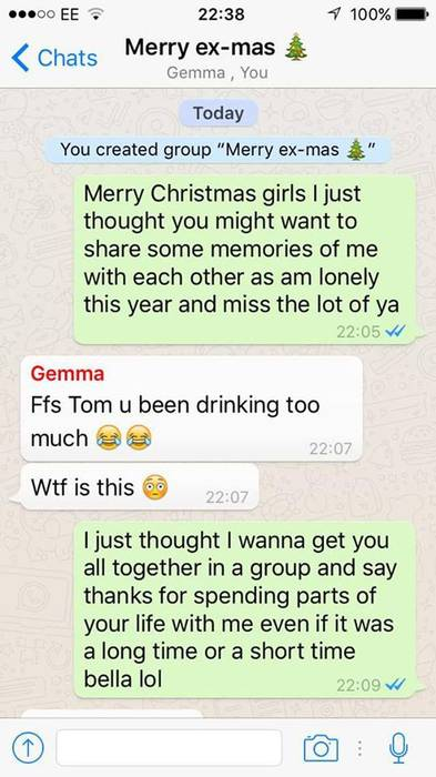 Group say a funny things chat to on Funny Things