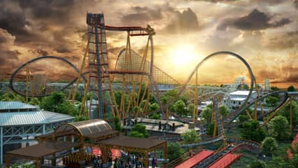 The 'World's Steepest' Dive Rollercoaster Is Opening In America Next Year